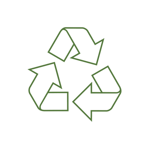 Recycle line arrow icon.svg
