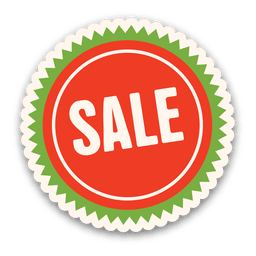 Red green sale tag