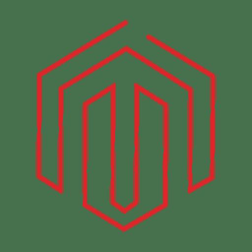 Linha vermelha social media icon.svg