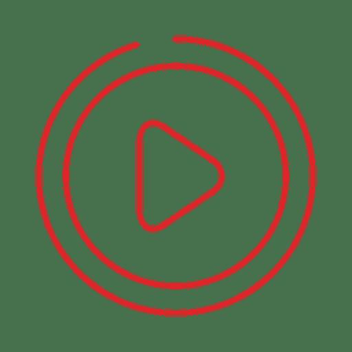 Línea de juego roja icon.svg