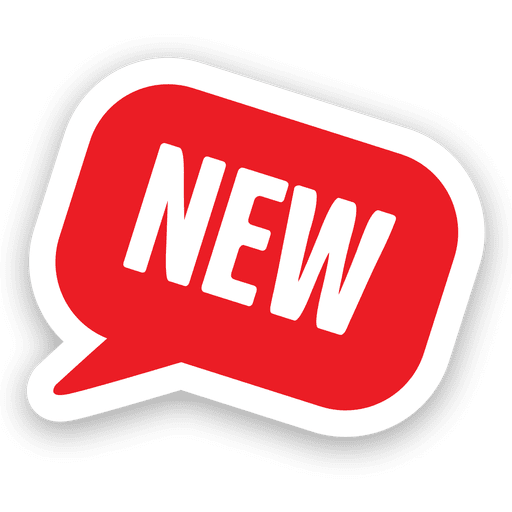 Red sale bubble template Transparent PNG