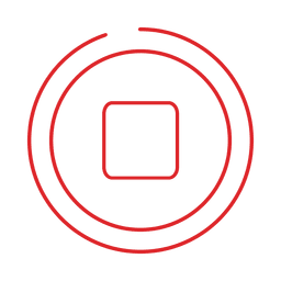 Red stop line icon.svg
