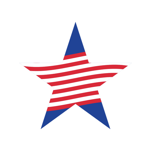 Red stripe usa star Transparent PNG