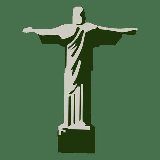Redentor cristo brasil Transparent PNG