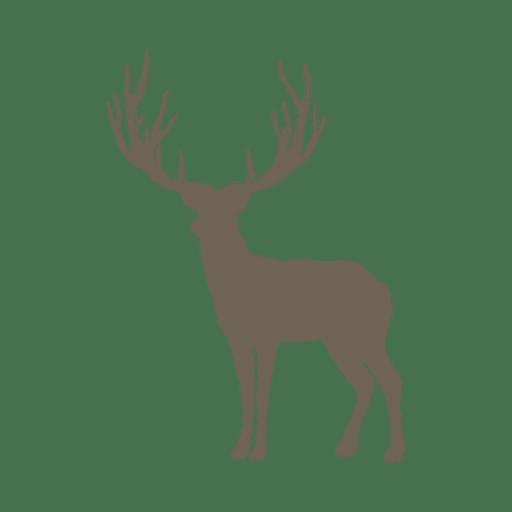 Icono de animal reno Transparent PNG