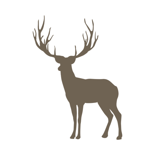 Reindeer animal icon Transparent PNG