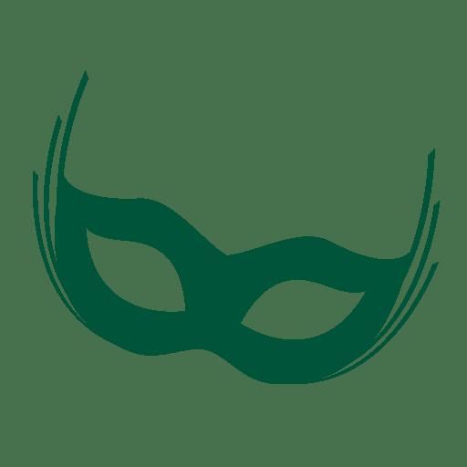 Mascara de carnaval de rio Transparent PNG