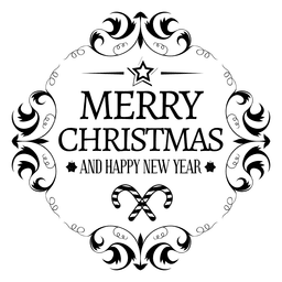 Arredondada novo logotipo xmas