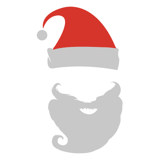 Santa claus hat and beard transparent png svg vector santa claus hat and beard transparent png maxwellsz