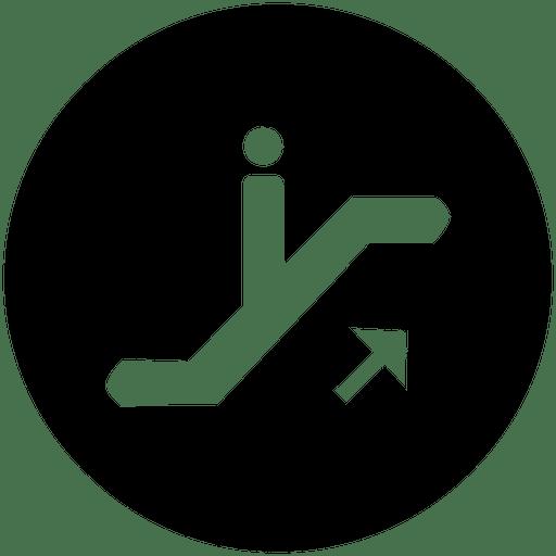 Icono de servicio redondo Scalator Transparent PNG
