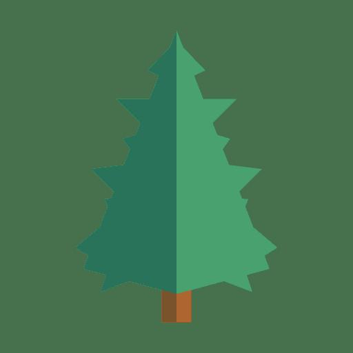 Garabato árbol verde