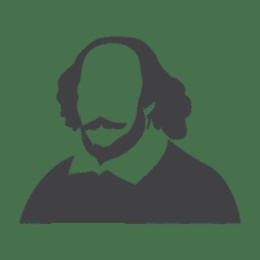 Shakespeare silhouette