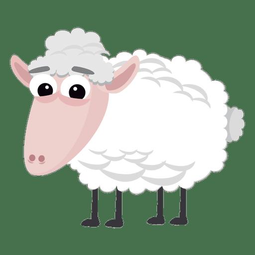 Dibujos animados de ovejas natividad cristiana Transparent PNG