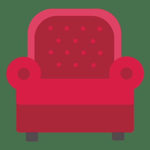Single seat leather sofa Transparent PNG