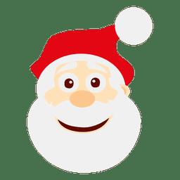 Smiley Weihnachtsmann Emoticon