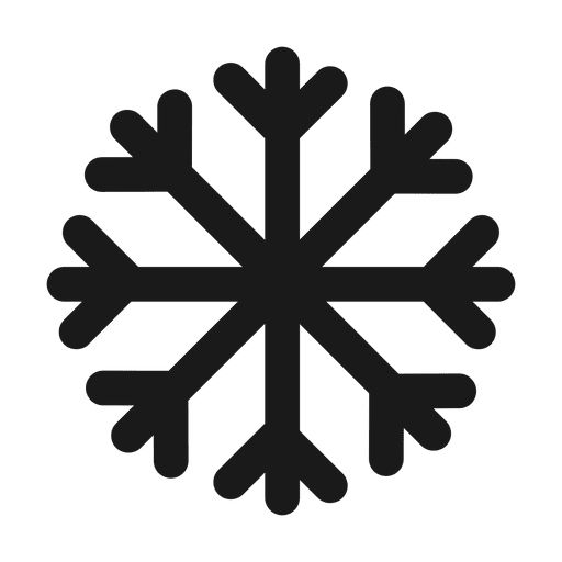 Snowflake frozen cold.svg