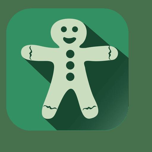 Muñeco de nieve navidad muñeca icono cuadrado Transparent PNG