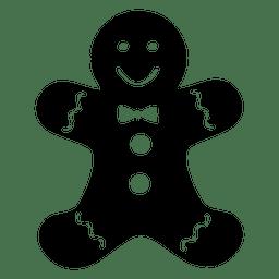 Icono de muñeco de nieve