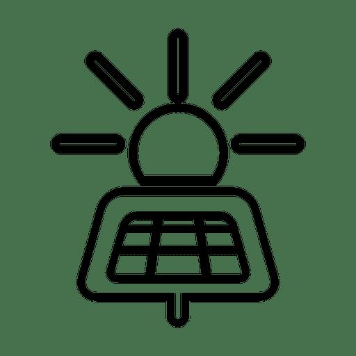 Panel solar.svg Transparent PNG