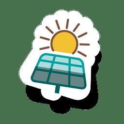 Painel solar sticker.svg