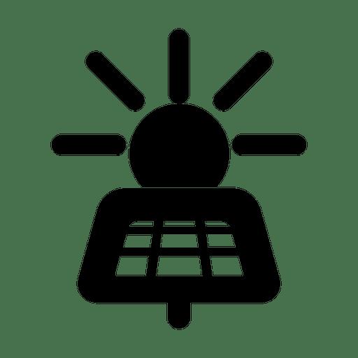 Painel solar symbol.svg Transparent PNG