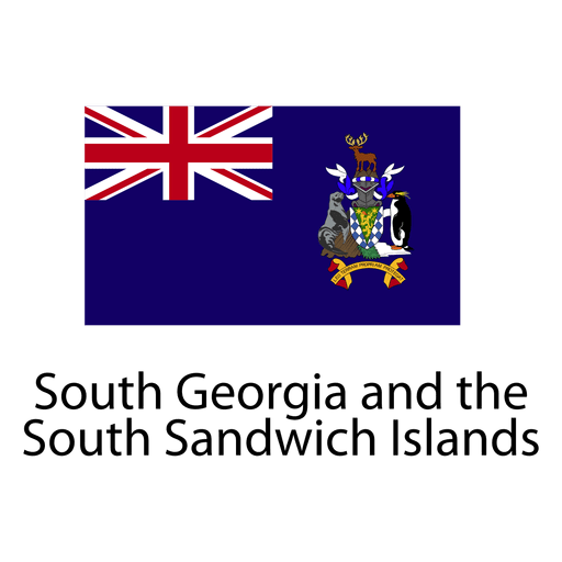 South georgia and the south sandwich national flag Transparent PNG