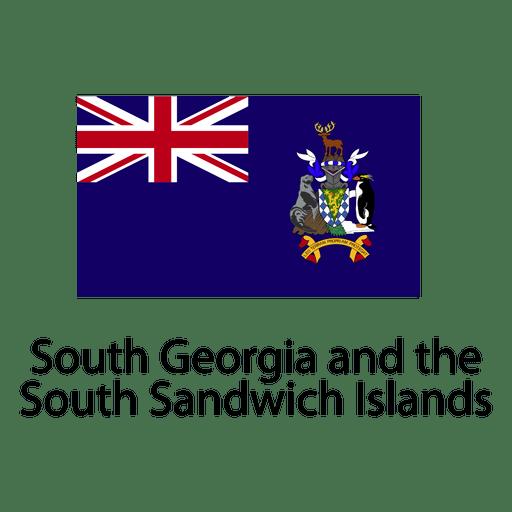 South georgia y la bandera nacional sandwich del sur Transparent PNG