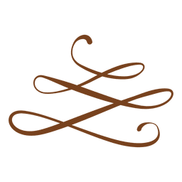 Adorno floral en espiral