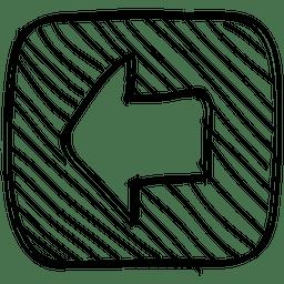 Square arrow button