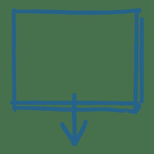 Cuadro de mensaje de flecha cuadrada Transparent PNG