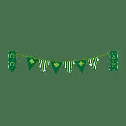 banderín de St Patrick