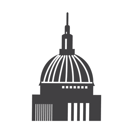 St pauls cathedral icon Transparent PNG