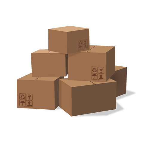 cardboard box png. stack of cardboard boxes box png