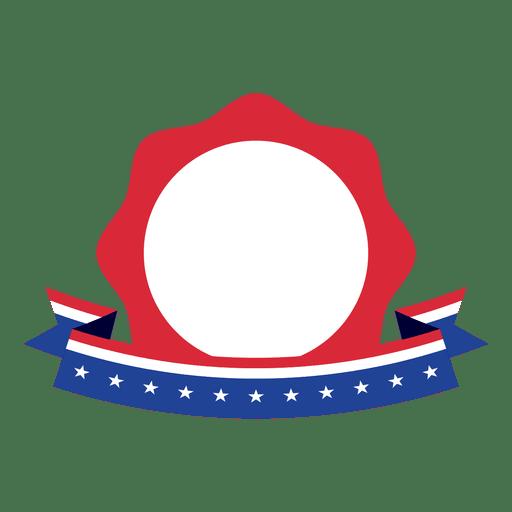 Bandera de Estados Unidos insignia de la estrella Transparent PNG