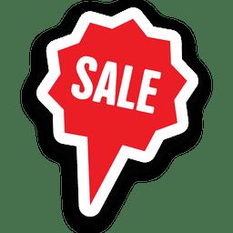 Sternblase Verkauf Aufkleber