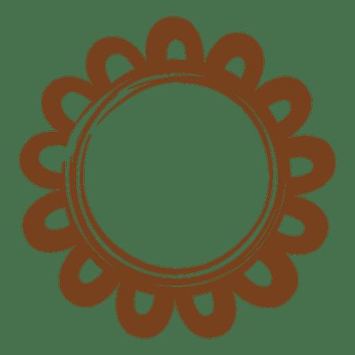 decoración de la estrella Marco de la guirnalda - Descargar PNG/SVG ...