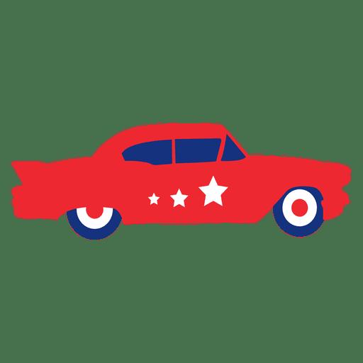 Bandera de coche de Estados Unidos estrella Transparent PNG