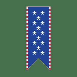 Sterne USA drucken Band