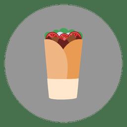 Erdbeer-Paket-Cartoon