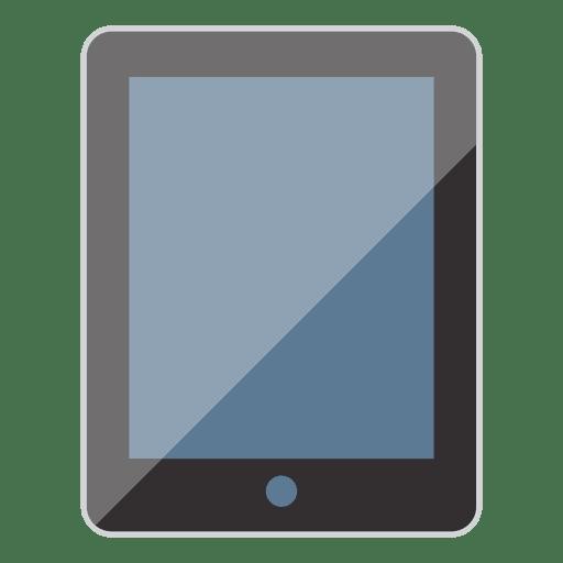 Icono de tableta plana