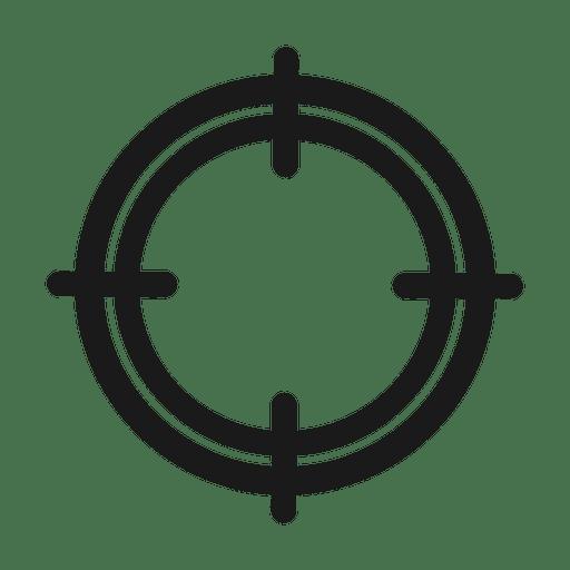 Target icon.svg Transparent PNG