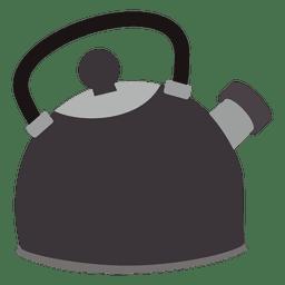 Icono plano de ganado de té