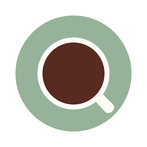 Tea plate cup icon Transparent PNG