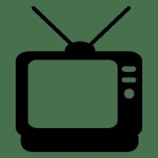 Icono de televisión plana