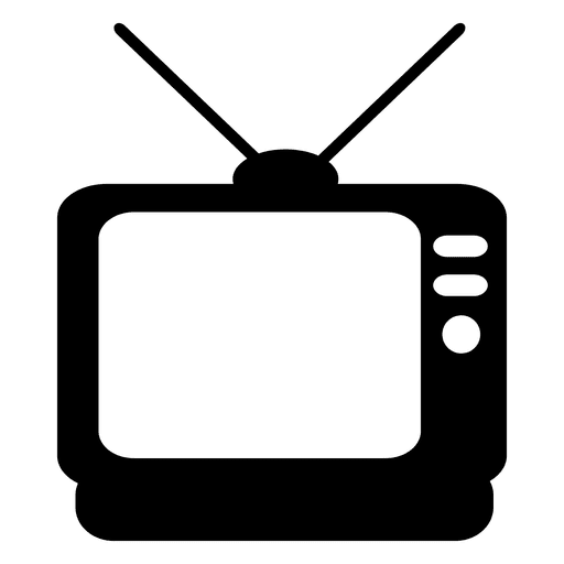 Television flat icon Transparent PNG