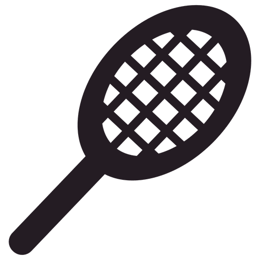 Ícone de raquete de tênis Transparent PNG