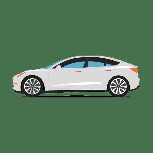 Tesla car.svg Transparent PNG