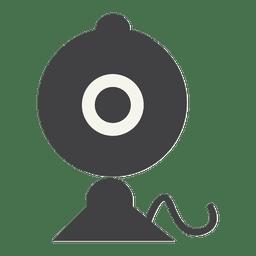 Webcam flat icon