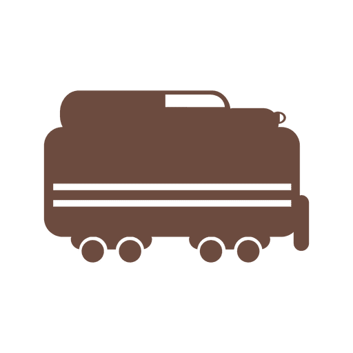 Train delivery icon Transparent PNG