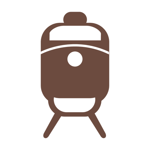 Train transport silhouette Transparent PNG